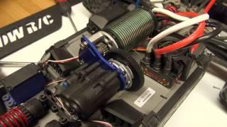 Brushed E-Revo Upgraded to Brushless E-Revo