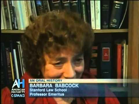 Barbara Babcock: An Oral History (Part 1)