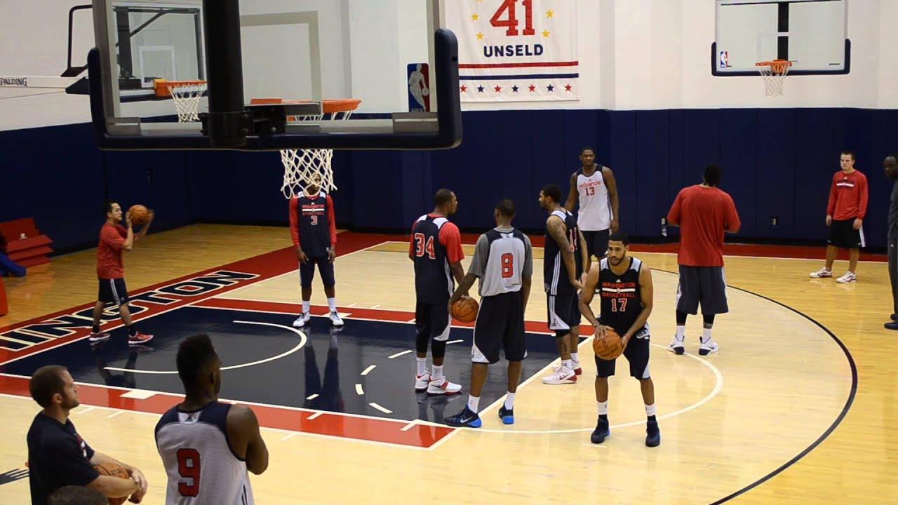 Washington Training Camp Washington Wizards Training