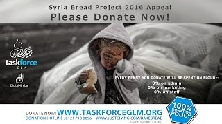 Syria Bread Project 2016 Appeal – PLEASE DONATE NOW!