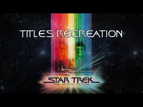 Star Trek: The Motion Picture (1979) Re-creation