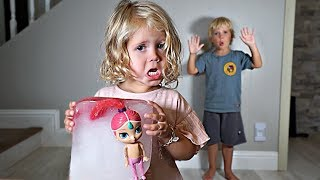 Tydus FROZE RyRy's FAVORITE DOLL in Ice! *GROUNDED*
