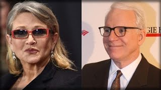 STEVE MARTIN DRIVES LIBERALS OVER THE EDGE WITH UN-PC TRIBUTE TO CARRIE FISHER