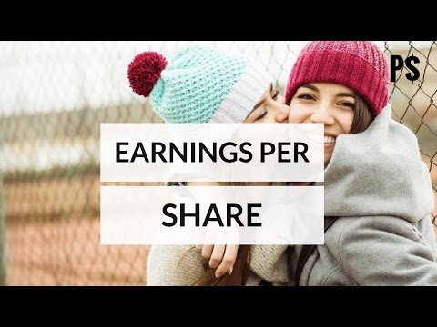 how to calculate earnings per share for beginners  (animated video) - Professor Savings