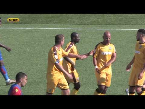 SUFCtv: Bedsente Gomis scores for Sutton United 1 Crystal Palace XI PSF 23/7/16