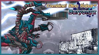 Dino Robot Baryonyx - Full Game Play - 1080 HD