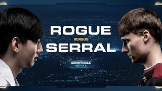 Rogue vs Serral ZvZ - Semifinals - 2018 WCS Global Finals - StarCraft II