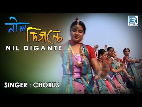 Nil Digante Oi Phuler Agun Laglo | Rabindra Sangeet | Full HD...