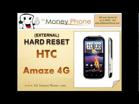 HARD RESET HTC Amaze 4G (external) Master Reset (RESTORE to FACTORY condition) Video