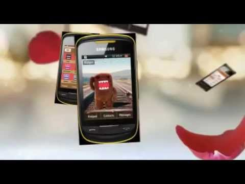Domo-kun Theme For Samsung Corby 2 Ii S3850 Free Download-choozhang video