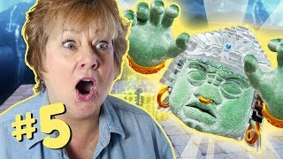 Moms Play Mario Odyssey! - Knuckle Battle! - PART 5