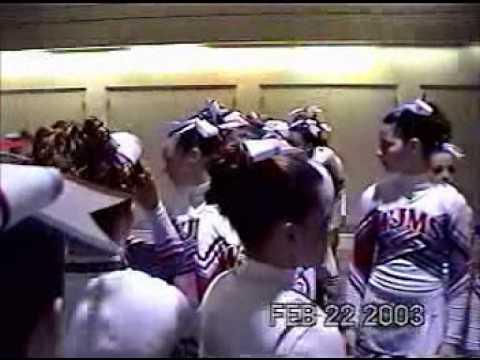 West Jessamine Middle School Cheerleading @ Jamfest 2003