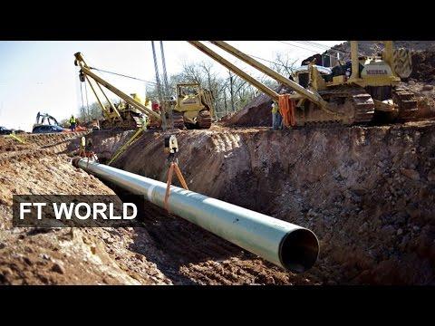 Oil price rattles Keystone pipeline