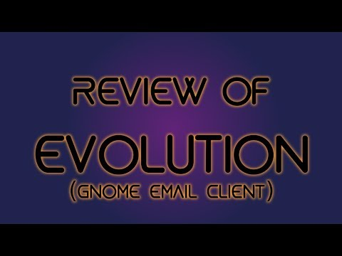 Review of Evolution Email Client