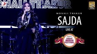 Sajda - Live @ Amazon Great Indian Festival | Monali Thakur | My Name Is Khan