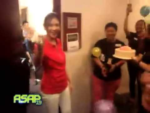 Sarah Geronimo - Asap's Birthday Surprise For Sarah G (july 6, 2014) video