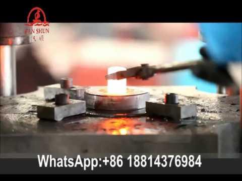 wheel gear forging machine