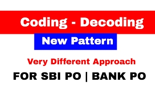 Coding Decoding New Pattern Reasoning Tricks For SBI PO BANK PO