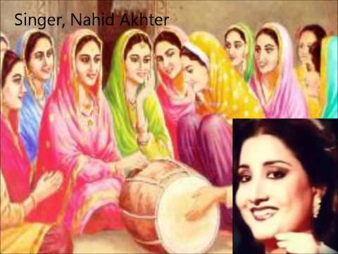 Kala Doria Kundey Naal Aria Punjabi Folk Song By (( Naheed Akhter...