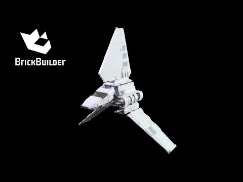 Lego Star Wars 75094 Imperial Shuttle Tydirium - Lego Speed Build