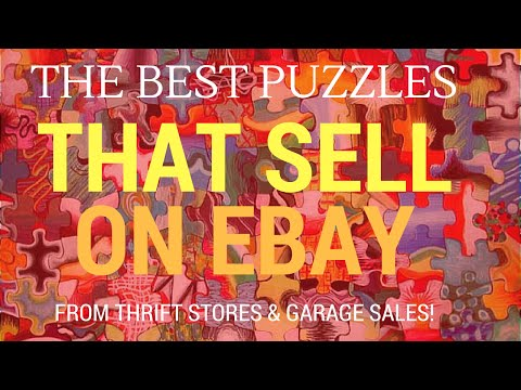 Puzzles That Sell on Ebay for Ridiculous Profits From Garage Sales and Thrift Stores