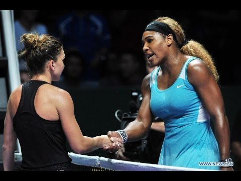 Simona Halep VS Serena Williams Highlight 2014 RR