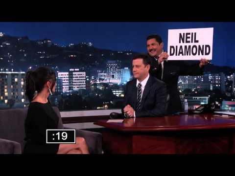 Courteney Cox vs Jimmy Kimmel in Celebrity Name Game