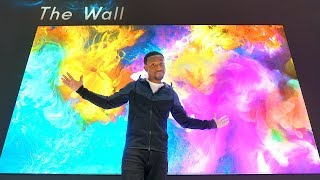 The Biggest Samsung TVs I've Ever Seen! - CES 2019