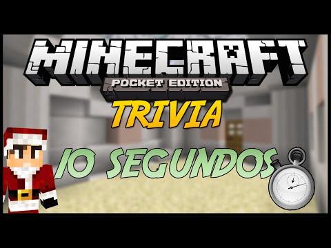 Minecraft PE TRIVIA: 10 SEGUNDOS PARA RESPONDER