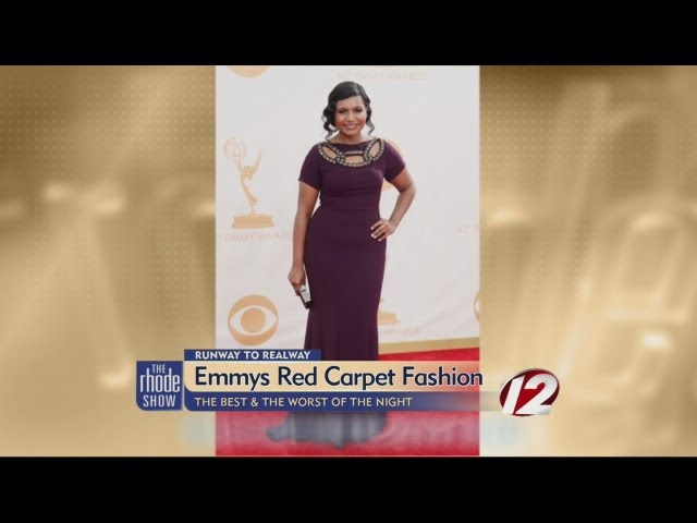 Emmy's Red Carpet Fashion