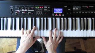 Bob James Taxi Theme Piano Tutorial lesson Fender Rhodes