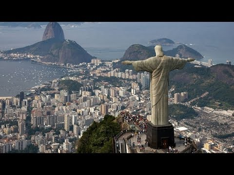 The World 5th Largest Statue of Jesus - Jesus Christ in Rio de Janeiro, Brazil