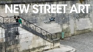 New Space Invaders, a New Banksy in Paris, and all while catching up New Subscribe