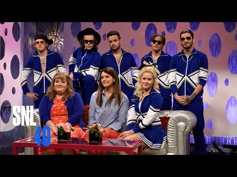 Girlfriends Talk Show (ft. Amy Adams Golden Globe® 2015 Winner) and One Direction
