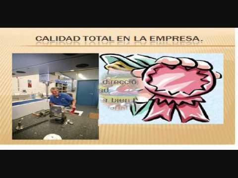 CALIDAD TOTAL APLICADA EN LA EMPRESA
