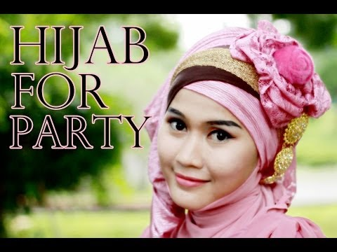 Tutorial Hijab Pashmina Pesta dan Pre-Wedding oleh Didowardah #34