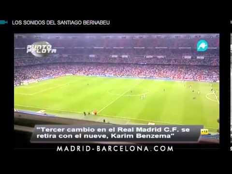 El Bernabéu pita a Ancelotti y Benzema