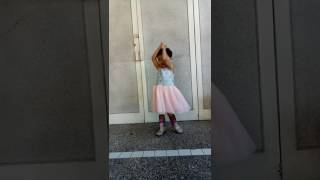 Ballerina with boots