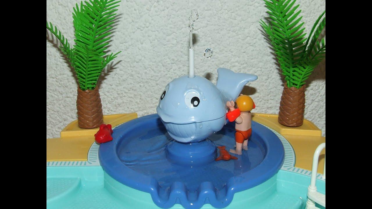 Ein Sch Ner Tag Im Playmobil Schwimmbad 5433 Kurzfilm Swimming Pool Movie Stop Motion Summer Fun