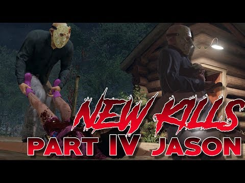 Part IV Jason NEW KILLS | DLC Pack | 3 Exclusive Kills | Friday the 13th: The Game