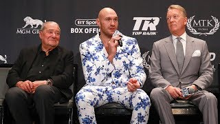 Full Tyson Fury post-fight press conference