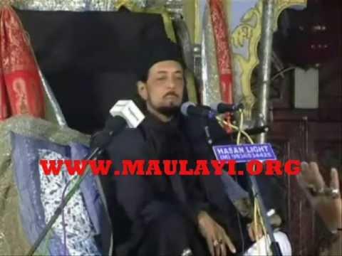 Allama Zameer Akhtar Naqvi Sb. In Chota Imambada, Lucknow 4th Majlis video