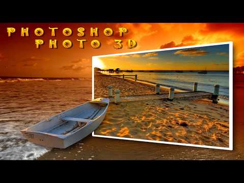 Photoshop Tutorial: How to Make a 3D, Pop-Out Photo Effect 2018