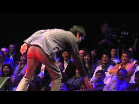 Generating ideas: Shimpei Takahashi at TEDxTokyo (English)