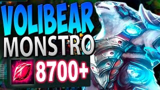 O NOVO ITEM ESTÁ DEIXANDO ELE IMORTAL! - VOLIBEAR JUNGLE GAMEPLAY - Festinha do Rodil