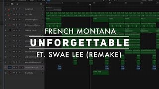 download lagu Making A Beat: French Montana - Unforgettable Ft. Swae gratis