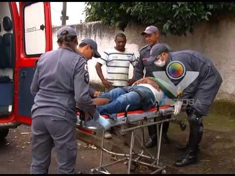 Dois motociclistas se envolvem em acidente no Bairro Tibery
