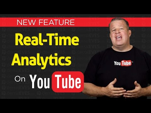 New Feature: Real Time Analytics For Your YouTube Channel