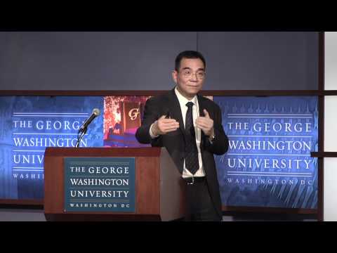 World Bank Chief Economist Justin Yifu Lin
