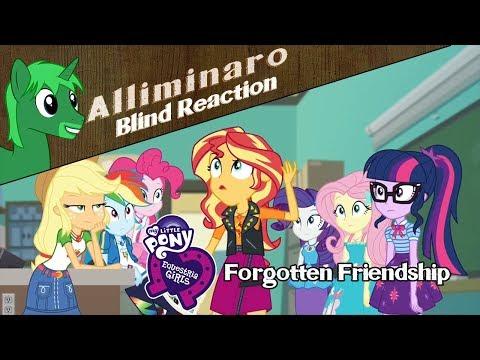 [Blind Reaction] My Little Pony: Equestria Girls Forgotten Friendship